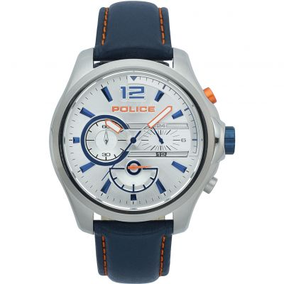 Police DENVER Herrenuhr in Blau 15403JS/04