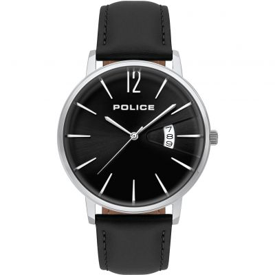 Police VIRTUE Herrenuhr in Schwarz 15307JS/02