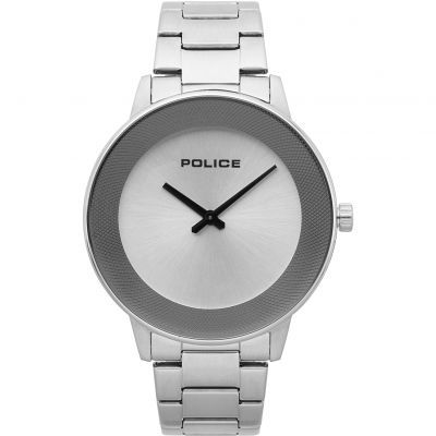 Police SUNRISE Herrenuhr in Silber 15386JS/04M