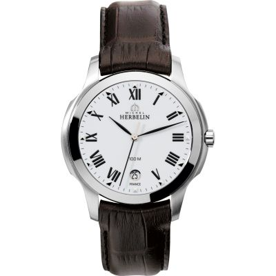 Mens Michel Herbelin Ambassador Watch 12239/01MA