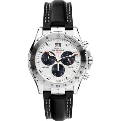 Mens Michel Herbelin Newport Trophy Chronograph Watch 36675/21