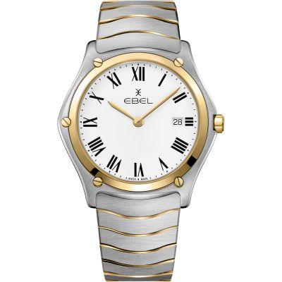 Mens Ebel Sport Classic Watch 1216386A