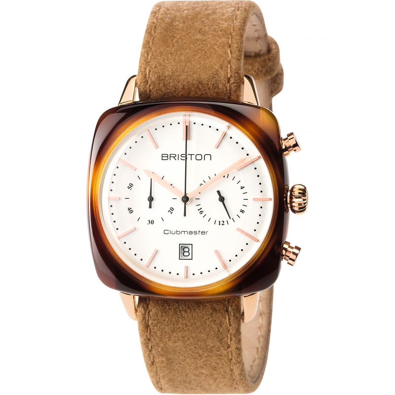 Unisex Briston Clubmaster Vintage Actate Chronograph Watch