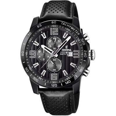 Festina The Originals Herenchronograaf Zwart F20339/6