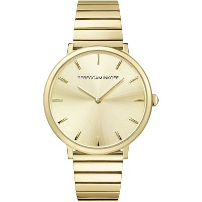 Rebecca Minkoff Major Damenuhr in Gold 2200020