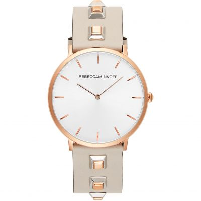 Rebecca Minkoff Major Damenuhr in Cremefarben 2200137