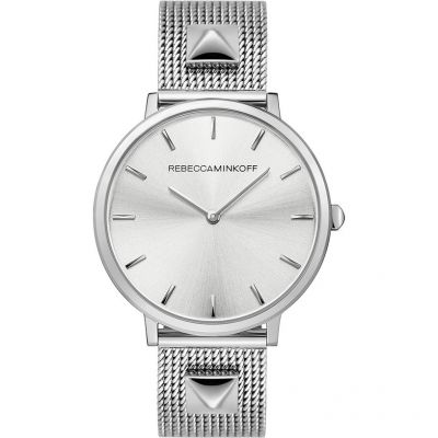 Rebecca Minkoff Major Damenuhr in Silber 2200001