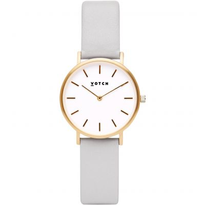 Ladies Votch 33mm Petite Light Grey and Gold Watch VOT3302