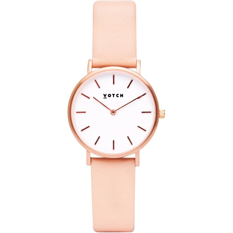 Ladies Votch 33mm Petite Pink and Rose Gold Watch