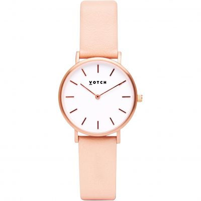 Votch 33mm Petite Pink and Rose Gold Damenuhr in Pink VOT3306