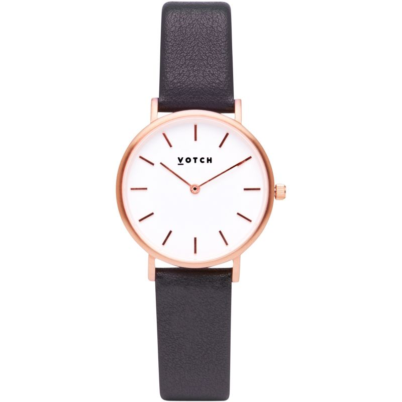 Ladies Votch 33mm Petite Dark Grey and Rose Gold Watch