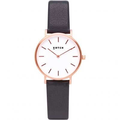 Montre Femme Votch 33mm Petite Dark Grey and Rose Gold VOT3307