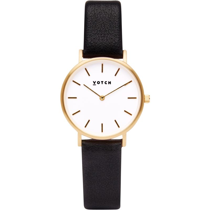 Ladies Votch 33mm Petite Black and Gold Watch