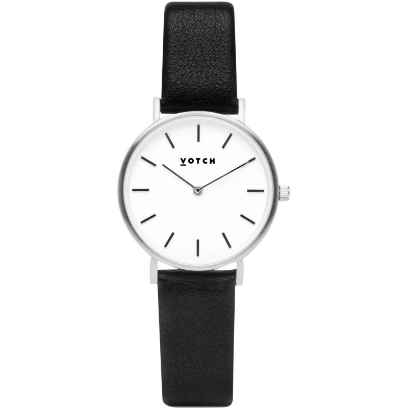 Ladies Votch 33mm Petite Black and Silver Watch