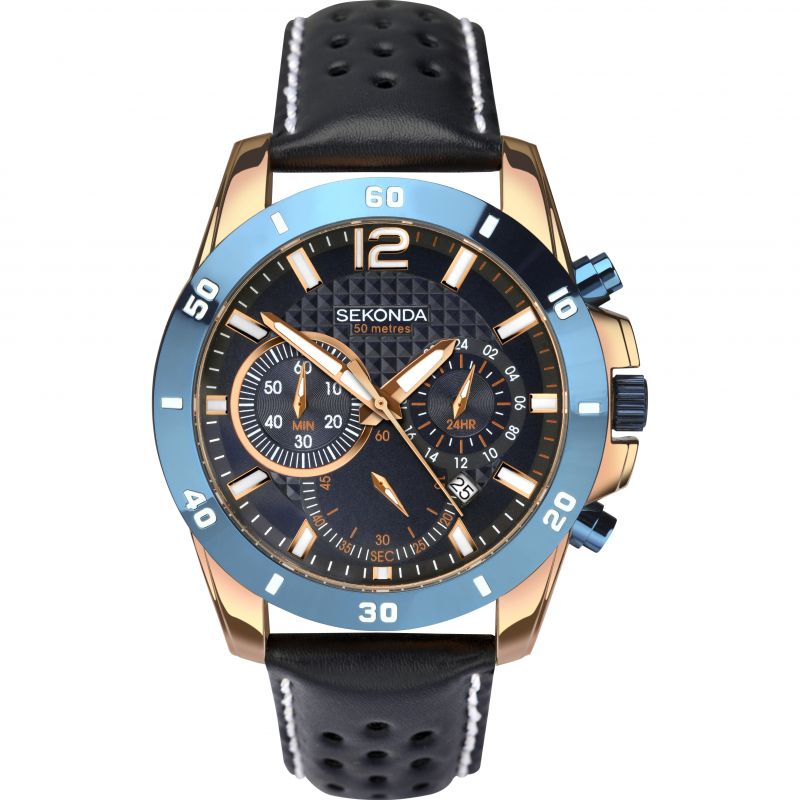 Mens Sekonda Chronograph Watch 1489