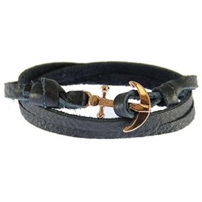 Icon Brand Anchor Bracelet LE1281-BR-NVY
