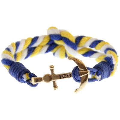 Icon Brand Captain Flint Armband LE1113-BR-YBLW