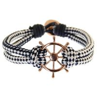 Gioielli da Icon Brand Jewellery Wheel Thing Bracelet LE1236-BR-NVY