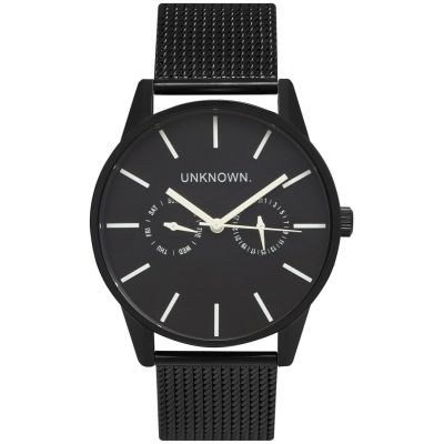 Mens UNKNOWN Engineered Dual Watch UN15EN17