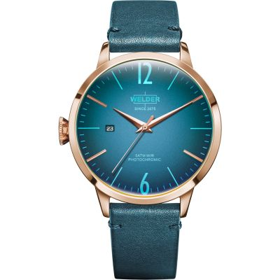 Welder The Moody 42mm Unisex horloge Blauw K55/WRC200