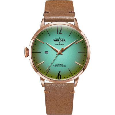 Welder The Moody 45mm Unisex horloge Bruin K55/WRC313