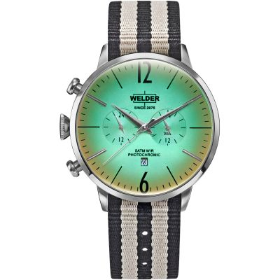 Welder The Moody 45mm Dual Time Unisex horloge Meerkleurig K55/WWRC501