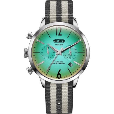 Welder The Moody 38mm Dual Time Unisex horloge Meerkleurig K55/WWRC700