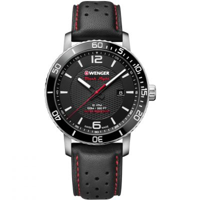 Wenger Roadster Black Night Herrklocka Svart 011841101