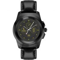 MyKronoz ZeTime Premium Bluetooth Smartwatch with Black Leather Regular 122792