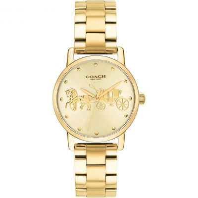 Coach Grand Grand Damenuhr in Gold 14502976