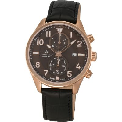 Mens Continental Chronograph Watch 14605-GC554620