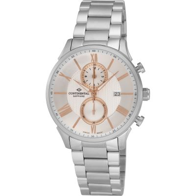 Mens Continental Chronograph Watch 17601-GC101110