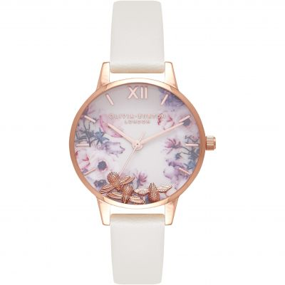 Busy Bees Rose Gold & Nude Watch