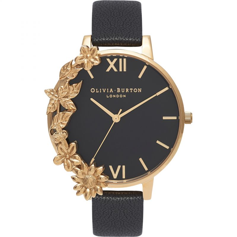 Case Cuffs Gold  & Black Watch