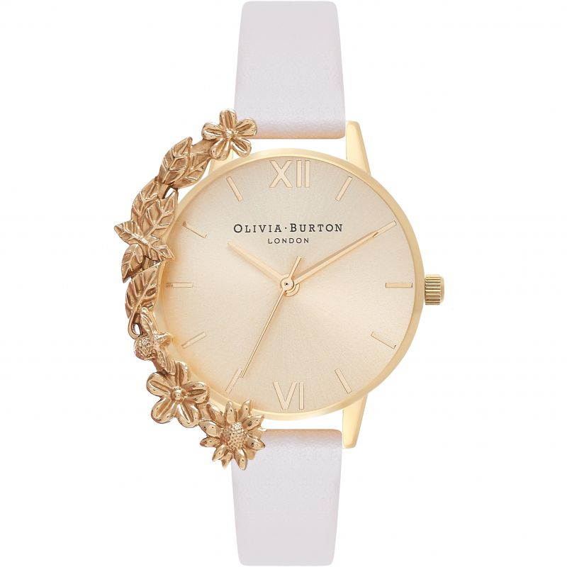 Case Cuffs Gold & Nude Watch
