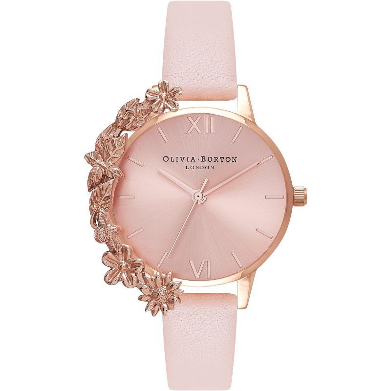 Case Cuffs Rose Gold & Nude Peach Watch OB16CB11 for £105