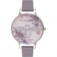 Ladies Olivia Burton Embroidered Dial Watch OB16EM05