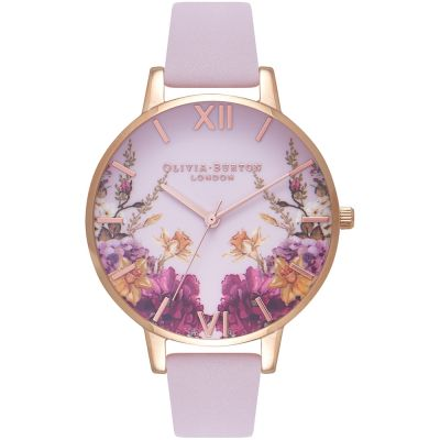 Enchanted Garden Rose Gold & Blossom Watch