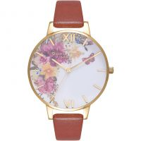 Ladies Olivia Burton Enchanted Garden Watch OB16EG94