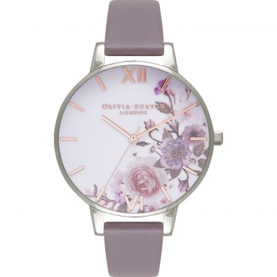 Montre Femme Olivia Burton Enchanted Garden Rose Gold & London Grey OB16WG38