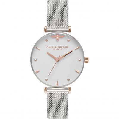 Montre Femme Olivia Burton Queen Bee Gold & Silver OB16AM140
