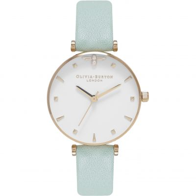 Montre Femme Olivia Burton Queen Bee Rose Gold & Mint OB16AM143