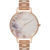 Ladies Olivia Burton Watercolour Florals Watch OB16PP38