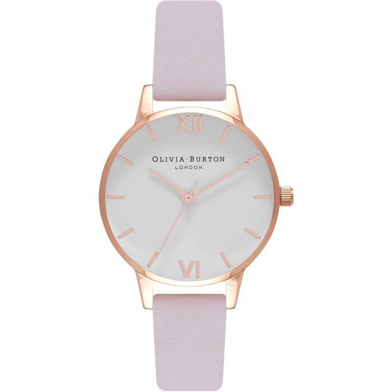 Midi Dial Blossom & Rose Gold Watch OB16MDW36 for £72