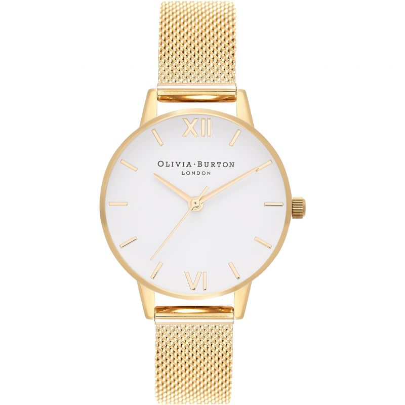 White Dial Mesh White Watch OB16MDW35 for £92