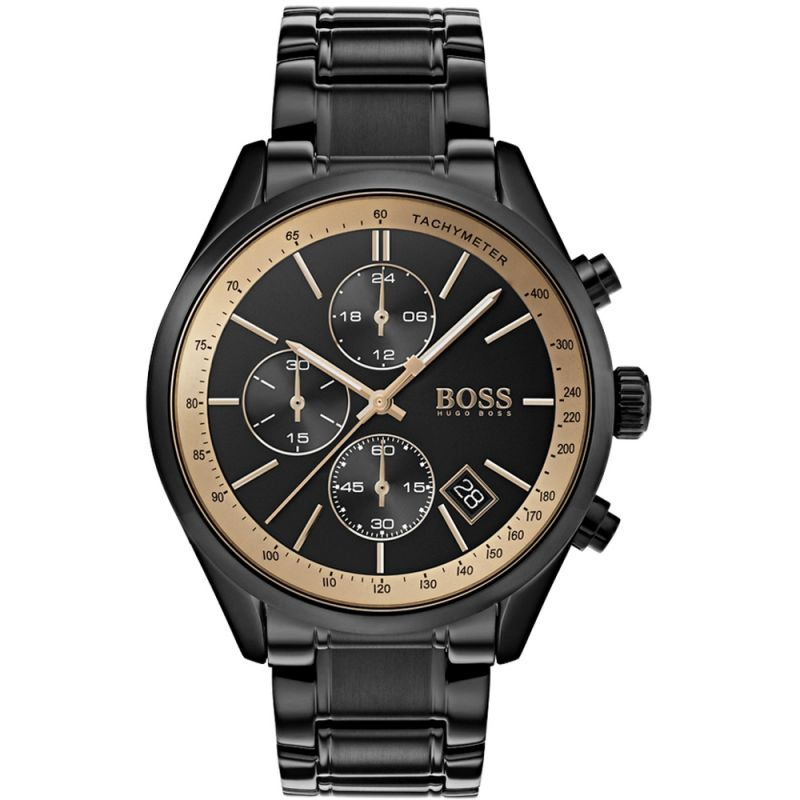 Mens Hugo Boss Grand Prix GQ Man of the Year 2018 Chronograph Watch 1513578 for £449