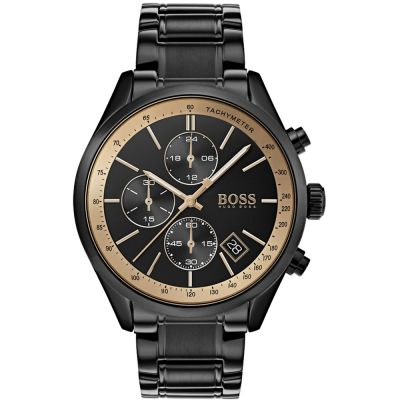 Hugo Boss Grand Prix Grand Prix GQ MOTY Herrenuhr in Schwarz 1513578