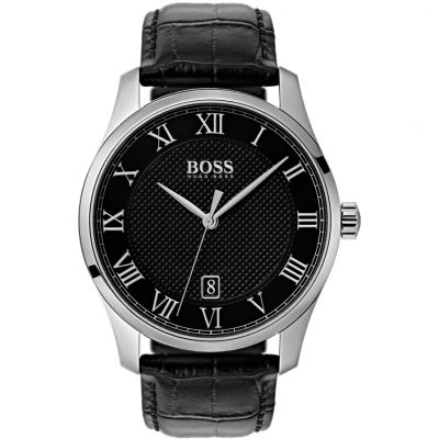 Hugo Boss Master Master Herrenuhr in Schwarz 1513585