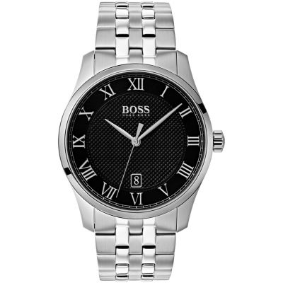 Hugo Boss Master Master Herrenuhr in Silber 1513588