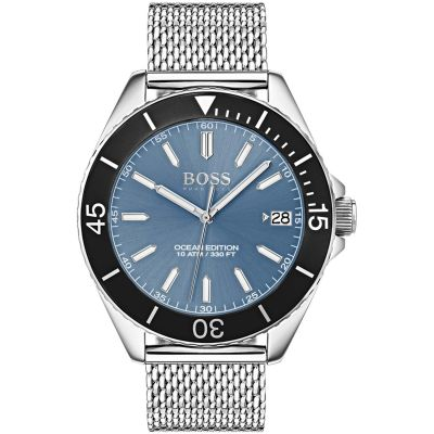 Hugo Boss Ocean Edition Ocean Edition Herrenuhr in Silber 1513561